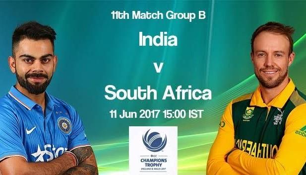 India VS SA CT 2017